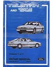Ford Telstar AT & TX5 Including Turbo 1987-1990 Factory Repair Manual