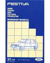 Ford Festiva WA 1991 - 1994 Factory Repair Manual