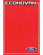 Ford Econovan 1981 Diesel Factory Repair Manual Supplement