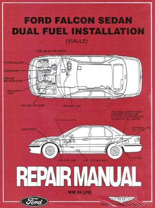 Ford Falcon Sedan LPG Factory Repair Manual Supplement