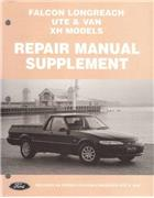Ford Falcon XH Series 2 Longreach Ute & Van Repair Manual Supplement - Front Cover