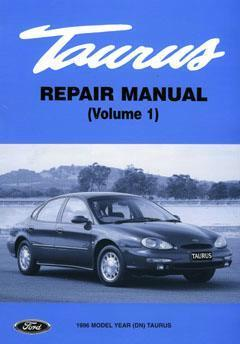 Ford Taurus 1996 On Factory Repair Manual : 5 Volumes - Front Cover