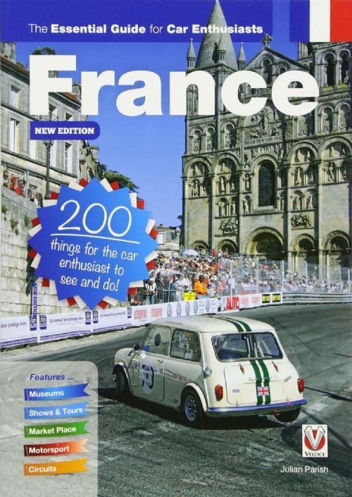 France : the essential guide for car enthusiasts - Front Cover