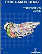 Hydra-matic 4L60-E : Technicians Guide (Factory Publication) - Front Cover