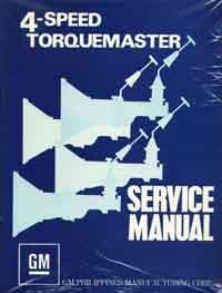 Holden Torana Torquemaster 4 Speed Supplement Service Manual