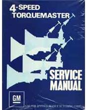 Holden Torana Torquemaster 4 Speed Factory Service Manual Supplement