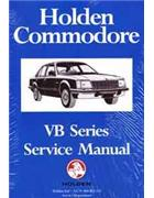 Holden Commodore VB Series 1978 - 1980 Factory Service Manual