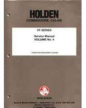 Holden Commodore/Calais VT 1997 Service Manual : Volume 4