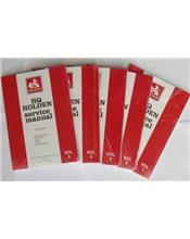Holden HQ 1971 - 1974 Service Manual (5 Volume Set)