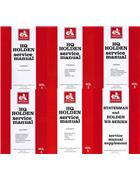 Holden HQ, WB & Statesman 1971 - 1985 Service Manual (6 Volume Set) - Front Cover