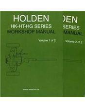 Holden HK - HT - HG Series Factory Repair Manual