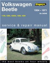 Volkswagen Beetle 1954 - 1971 Gregorys Owners Service & Repair Manual