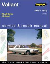 Chrysler Valiant VG - VH (6 cyl) 1970 - 1973