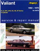 Chrysler Valiant R S AP5 AP6 VC VE VF (6 cyl) 1962 - 1970 - Front Cover