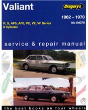Chrysler Valiant R S AP5 AP6 VC VE VF (6 cyl) 1962 - 1970