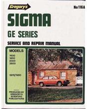 Mitsubishi Sigma GE Series 1978 - 1980 Gregorys Owners Service & Repair Manual