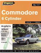 Commodore VB Series 6 Cylinder 1978 - 1980