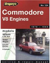 Holden Commodore VB (8 cyl) 1978 - 1980 Gregorys Owners Service & Repair Manual