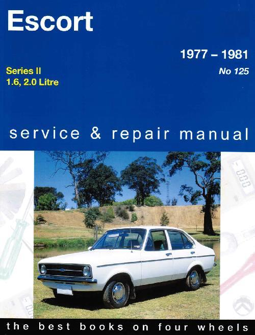 Ford Escort Mk 2 1977 - 1981 Gregorys Owners Service & Repair Manual - Front Cover