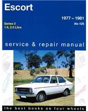 Ford Escort Mk 2 1977 - 1981 Gregorys Owners Service & Repair Manual