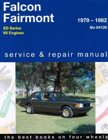 Ford Falcon / Fairmont XD Series V8 Engines 1979 - 1982 - Front Cover