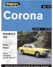 Toyota Corona 2000 1976 - 1979 Gregorys Owners Service & Repair Manual