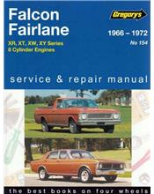 Ford Falcon XR/XT/XW/XY & Fairlane ZD (V8) 1966 - 1972