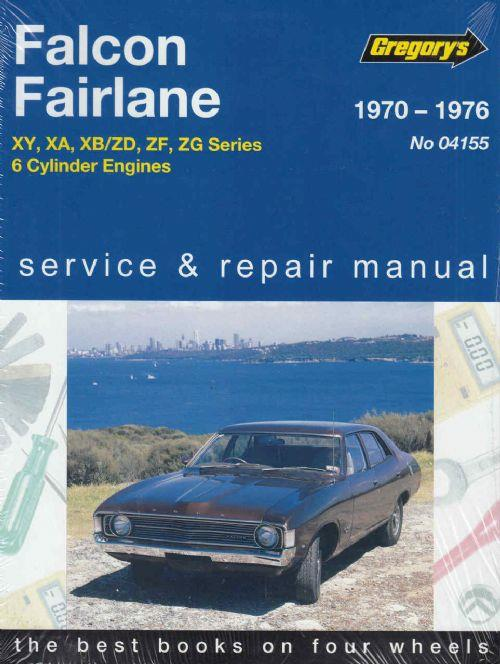 Ford Falcon XY/XA/XB and Fairlane ZD/ZF/ZG (6 cylinder) 1970 - 1976 - Front Cover
