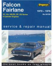 Ford Falcon XY/XA/XB and Fairlane ZD/ZF/ZG (6 cylinder) 1970 - 1976