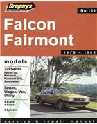 Ford Falcon XD (6 cyl) 1979 - 1982 Gregorys Owners Service & Repair Manual - Front Cover