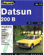 Datsun 200B 1977 - 1981 Gregorys Owners Service & Repair Manual
