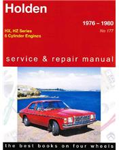Holden HX / HZ (6 cyl) 1976 - 1980 Gregorys Owners Service & Repair Manual