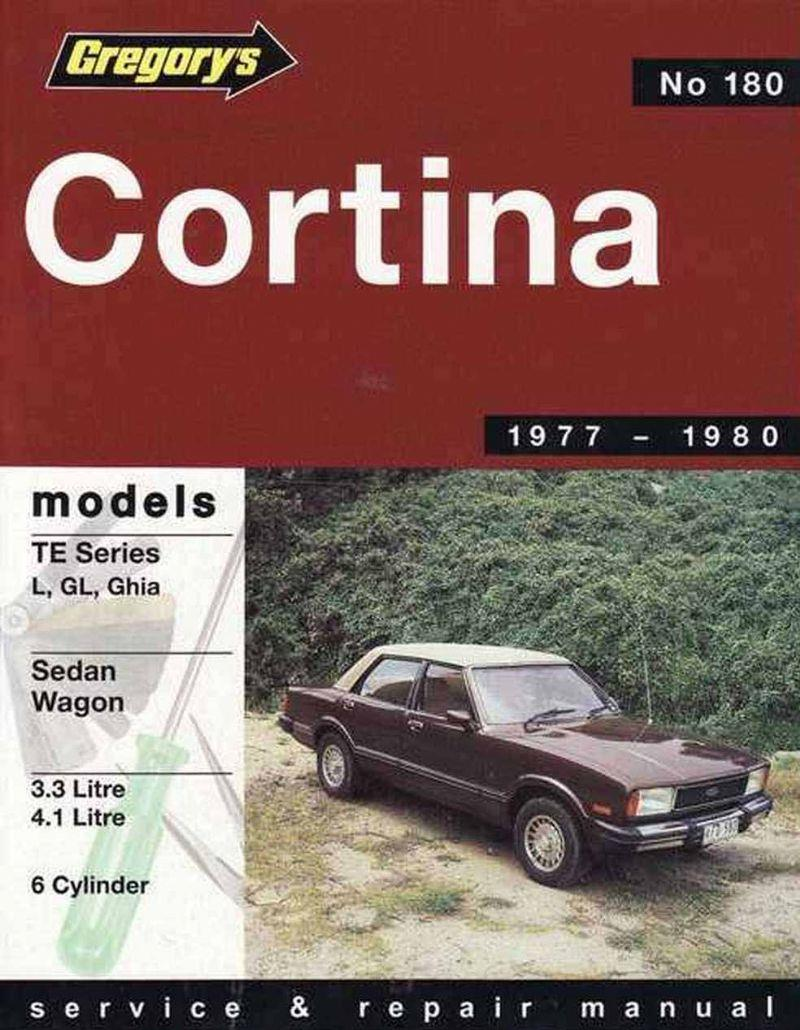 Ford Cortina TE (6 cyl) 1977 - 1980 Gregorys Owners Service & Repair Manual - Front Cover