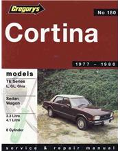 Ford Cortina TE (6 cyl) 1977 - 1980 Gregorys Owners Service & Repair Manual