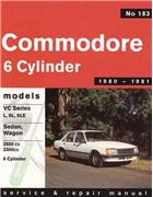 Holden Commodore VC (6 cyl) 1980 - 1981 Gregorys Owners Service & Repair Manual