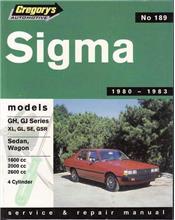 Mitsubishi Sigma GH GJ 1980 - 1983 Gregorys Owners Service & Repair Manual