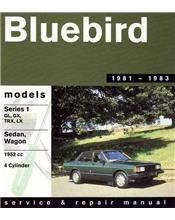 Nissan Bluebird Series 1 1981 - 1983 Gregorys Owners Service & Repair Manual
