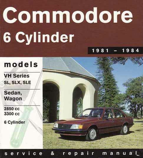 Holden Commodore VH 1981 - 1984 Gregorys Owners Service & Repair Manual - Front Cover
