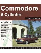 Holden Commodore VH 1981 - 1984 Gregorys Owners Service & Repair Manual