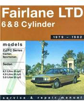 Ford Fairlane ZJ LTD FC 1979 - 1982 Gregorys Owners Service & Repair Manual