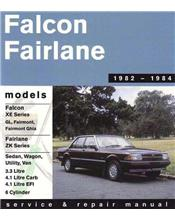 Ford Falcon XE & Fairlane ZK (6 cyl) 1982 - 1984