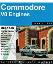 Holden Commodore VH/VK (V8) 1981-1985 Gregorys Owners Service & Repair Manual