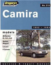 Holden Camira JB 1982 - 1984 Gregorys Owners Service & Repair Manual