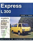 Mitsubishi L300 Express Petrol 1980-1986 Gregorys Owners Service & Repair Manual