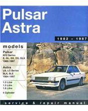 Nissan Pulsar Astra N12 Series 1982 - 1987