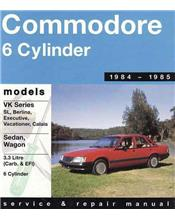 Holden Commodore VK Series 1984 - 1985 Gregorys Owners Service & Repair Manual