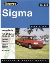 Mitsubishi Sigma GK 1984 - 1987 Gregorys Owners Service & Repair Manual