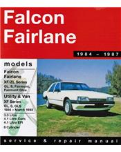 Ford Falcon XF & Fairlane ZL (6 cyl) 1984 - 1987