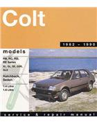 Mitsubishi Colt RB-RE 1982 - 1990 Gregorys Owners Service & Repair Manual
