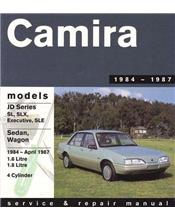 Holden Camira JD 1984 - 1987 Gregorys Owners Service & Repair Manual